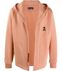 styland open front hoodie - neutrals