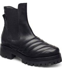 iggy shoes chelsea boots svart nude of scandinavia