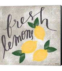 fresh lemons by katie doucette canvas art