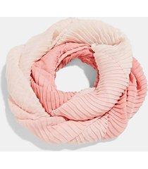 pañuelo mujer plisado rosado esprit