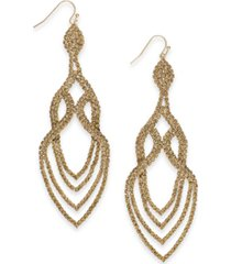 thalia sodi crystal point drop earrings, created for macy's