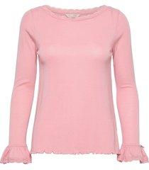 gladys top blouse lange mouwen roze odd molly