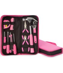 bey-berk 20 piece lady's tool set in zippered canvas case