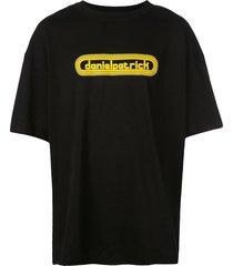 daniel patrick retro track t-shirt - black