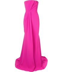 alex perry garnet gown - pink