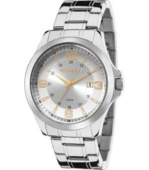 relógio technos 2015cec/1k prata