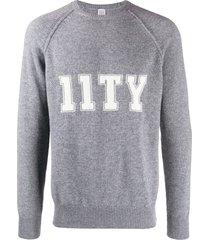 eleventy logo sweatshirt - grey