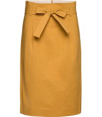 skirt knälång kjol guld noa noa