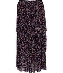 noella noella nala kjol svart/fin blommor