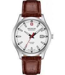 reloj casual marrón swiss military