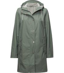 stala jacket 7357 regnkläder grön samsøe samsøe