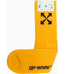 off-white arrow mid sport socks omra024e20kni001