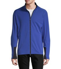 greyson men's colorblock racer jacket - spirit chaser - size s