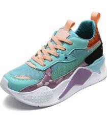 tenis azul-violeta-rosa winner's