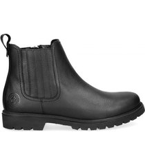 panama jack boots men bill c3 napa grass negro black zwart