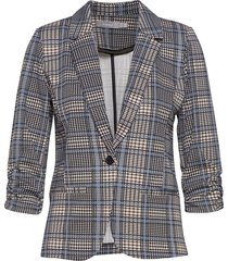 frlecheck 1 blazer blazer colbert multi/patroon fransa