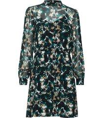 botanic lucinda dress korte jurk groen bruuns bazaar