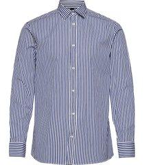 daniel cl-mason pop stripe overhemd business blauw j. lindeberg
