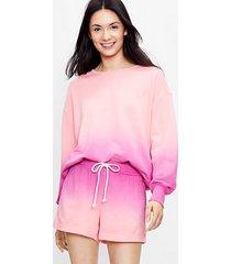 loft lou & grey dip dye terry sweatshirt
