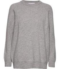aamu knit gebreide trui grijs makia