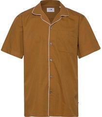 paris ss shirt 5214 overhemd casual bruin nn07