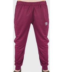 pantalón de buzo umbro tricot básico burdeo - calce regular