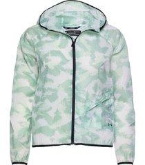 ua run anywhere storm jkt outerwear sport jackets blauw under armour