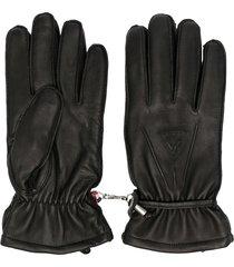 rossignol urban sheepskin gloves - black