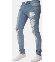 jeans skinny con strappi
