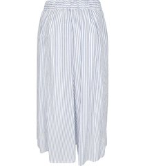 zucca stripe print oversized trousers