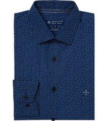 camisa dudalina manga longa tricoline estampa gravataria masculina (estampado, 6)
