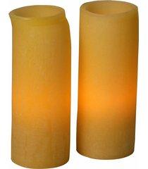 velas decorativas de led godec gande perfumada