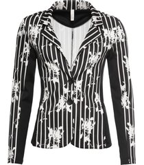 blazer a righe (nero) - bodyflirt boutique