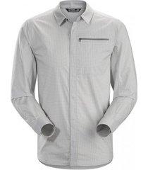 arc'teryx blouse men kaslo shirt ls delos grey-l