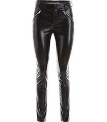 philosophy di lorenzo serafini vegan leather trousers
