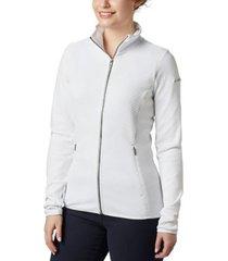 chaqueta mujer blanco  roffe ridge full zip columbia