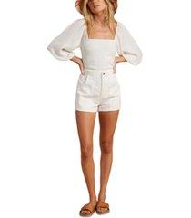 billabong x salty blonde women's low down corduroy shorts