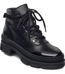 vandogz boots ms20 shoes boots ankle boots ankle boot - heel svart gestuz