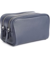 royce new york double zip toiletry bag