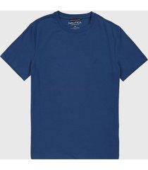 camiseta azul nautica