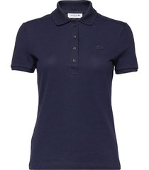 pf5462-00_ady t-shirts & tops polos blauw lacoste