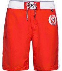 docksides board shorts shorts casual röd sebago