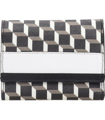 pierre hardy wallet canvas wallet in black canvas