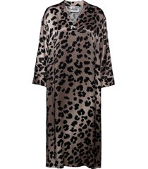 laguna dress knälång klänning brun just female