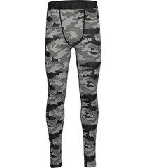 camo merino wool pants base layer bottoms grå bula