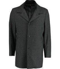 bos bright blue geke coat 19301ge02bo/980 antra