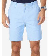 """nautica men's 8.5"""" stretch classic-fit deck shorts"""