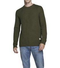 jack & jones men's fuel chunky sweater
