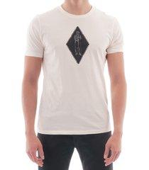 diamond tee - gauze white 102a-5100w 103