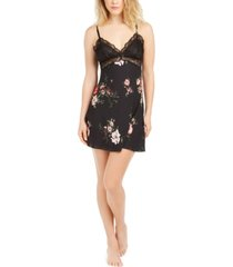 inc floral-print chiffon chemise nightgown, created for macy's